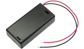 Battery Case Cover for 2xAA with switch UM3X2