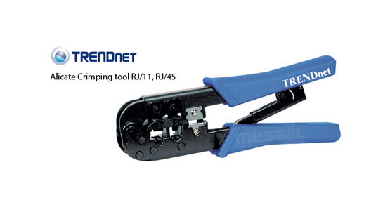 Alicate Crimping Tool Trendnet Rj11/rj45 Tc-ct68